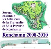 Vers le site Ronchamp 2008-2010