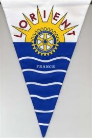 Fanion du Rotary club de Lorient